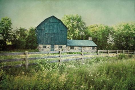 Blissful Country III Crop Art Print