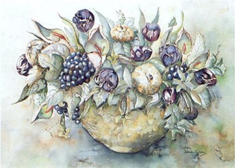 Flower Aquarel II Art Print