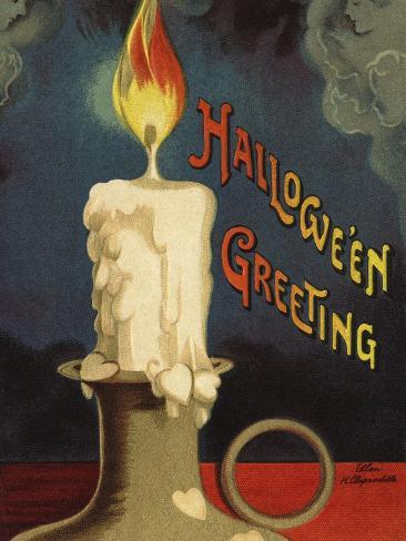 Hallowe'en Greeting Photographic Print