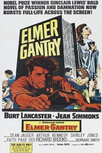 Elmer Gantry Art Print