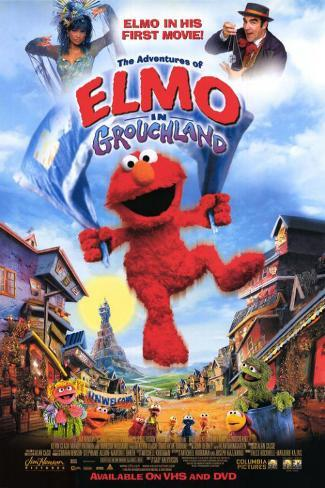 Elmo in Grouchland Masterprint