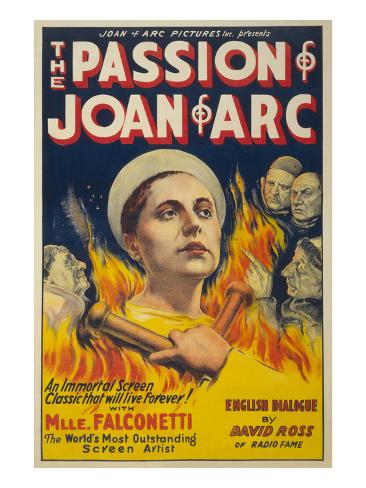 The Passion of Joan of Arc Art Print