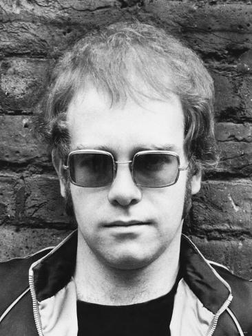 Elton John Pop Star Photographic Print