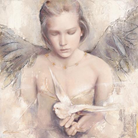 Fantasia angelicata Stampa artistica