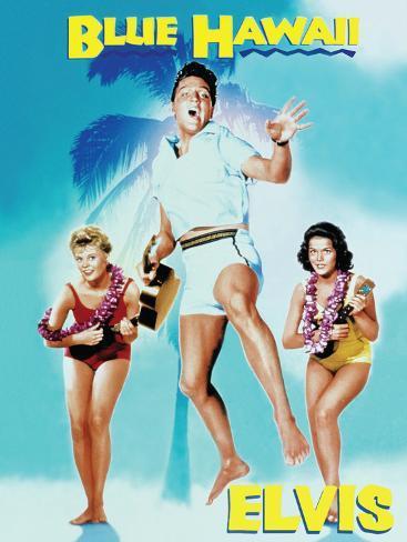 Elvis - Blue Hawaii Tin Sign