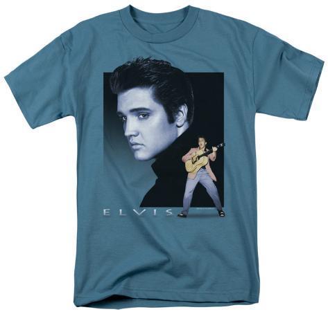 Elvis - Blue Rocker T-Shirt