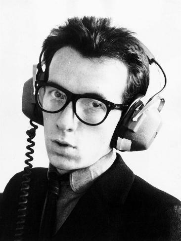 Elvis Costello Fotoprint