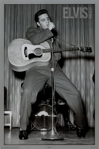 Elvis - Dance Poster