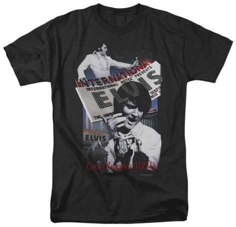 Elvis - International Hotel T-Shirt