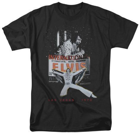 Elvis las vegas shirt for Las vegas shirt printing