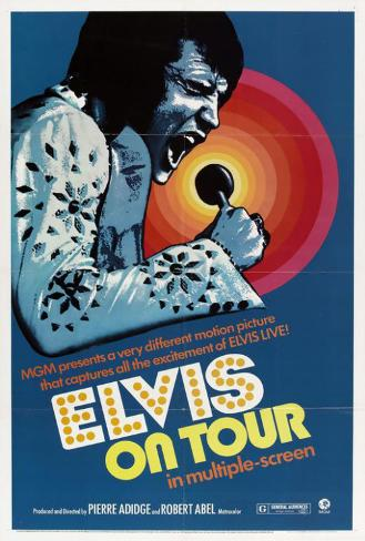Elvis On Tour Poster