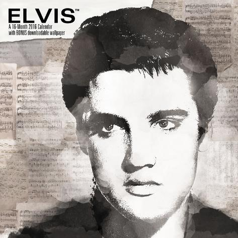 Elvis Presley - 2016 Calendar Calendars at AllPosters.com