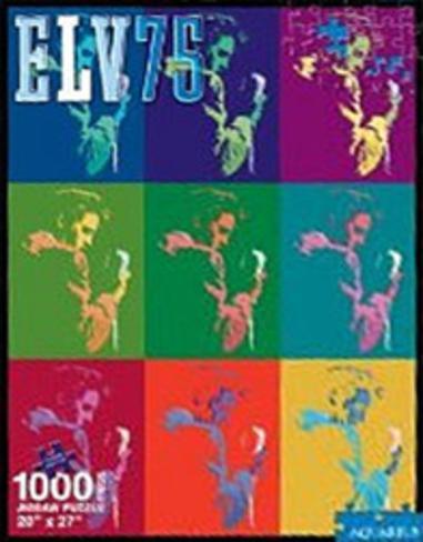 Elvis Presley 75th Anniversary 1000 Piece Jigsaw Puzzle Jigsaw Puzzle