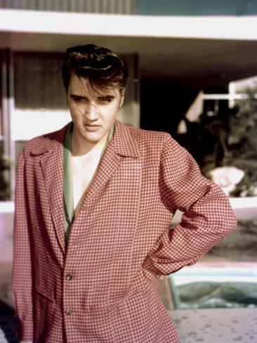 Elvis Presley April 1956 Las Vegas Nevada Usa Elvis Presley Sings at Frontier Hotel Photo