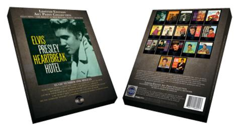 Elvis Presley - Limited Edition (Record Sleeve) Art Print Collection (17 Prints) Poster Set