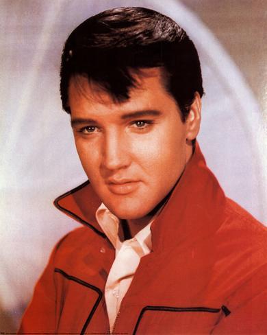 Elvis Presley Red Jacket Prints Allposters Co Uk