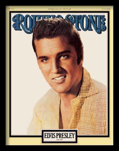 Elvis Presley: The King is Dead, Rolling Stone, 1977 Láminas en ...