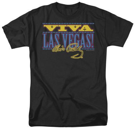 Elvis viva las vegas t shirt for Las vegas shirt printing