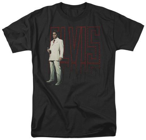 Elvis - White Suit T-Shirt