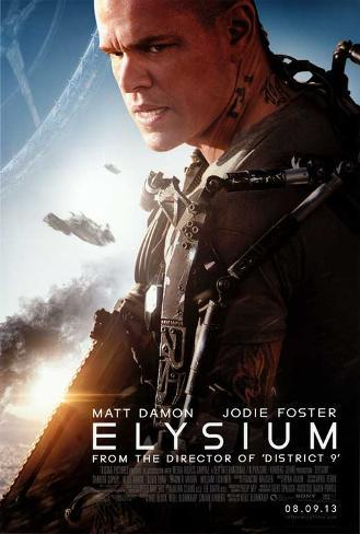 Elysium Movie Poster Masterprint