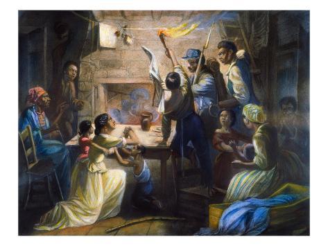 Emancipation Proclamation Stretched Canvas Print
