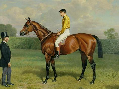 Ormonde, Winner of the 1886 Derby, 1886 Giclee Print