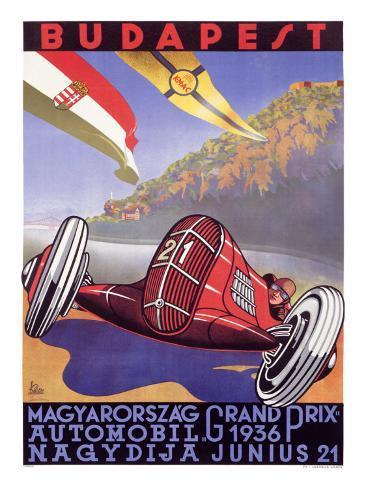 Hungarian Grand Prix Giclee Print
