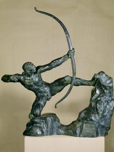 Herakles Archer, 1909 Lámina giclée