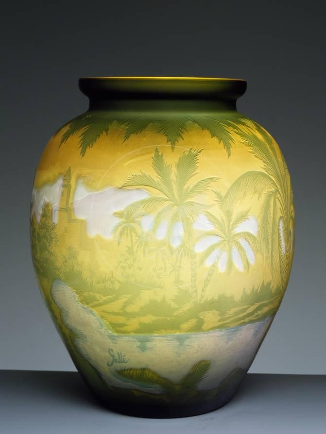 Glass Vase Giclee Print By Emile Galle At Allposters