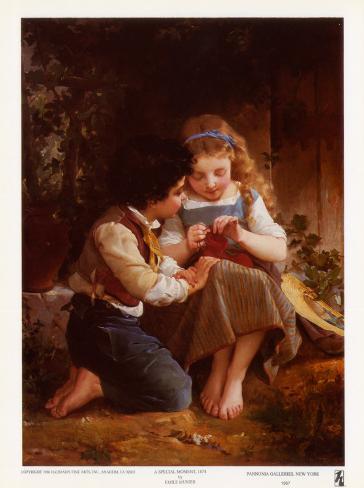 Special Moment, 1874 Art Print