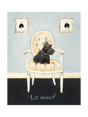La Woof Premium Giclee Print