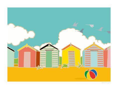 Summer Bay II Giclee Print