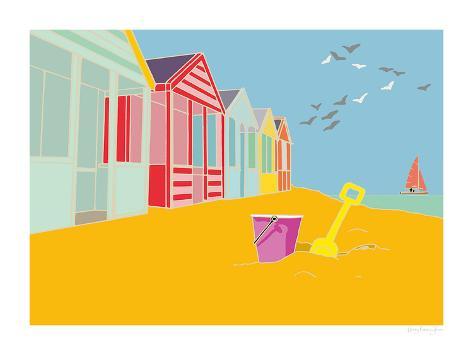 Summer Bay III Giclee Print