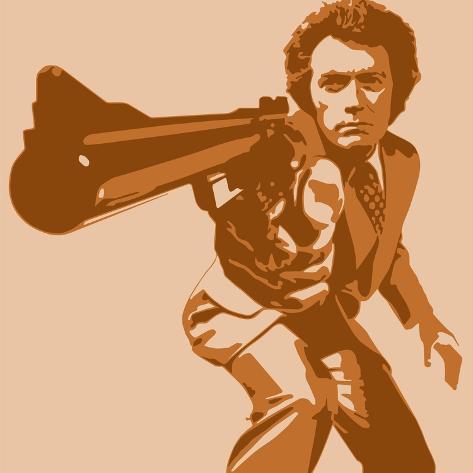 Dirty Harry Giclee Print