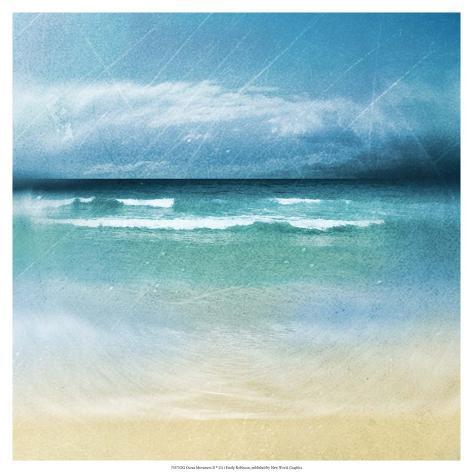 Ocean Movement II Art Print