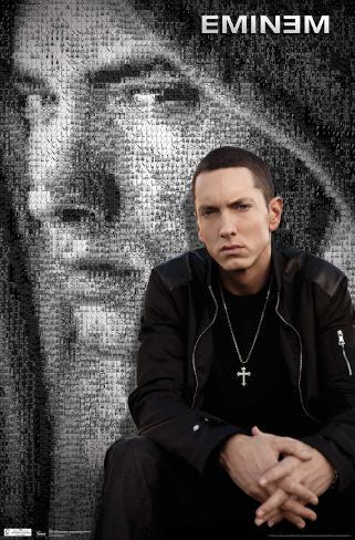 Eminem collage posters for Eminem wall mural