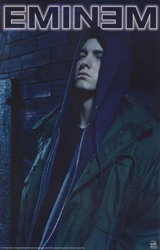 Eminem hood masterprint at for Eminem wall mural