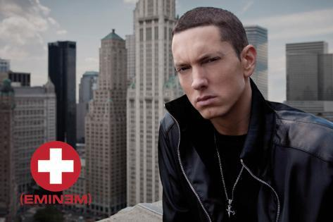 Eminem - Skyline Fabric Poster