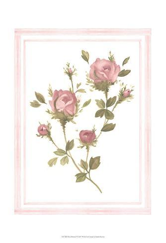 Rose Pattern I Art Print