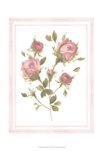 Rose Pattern II Art Print