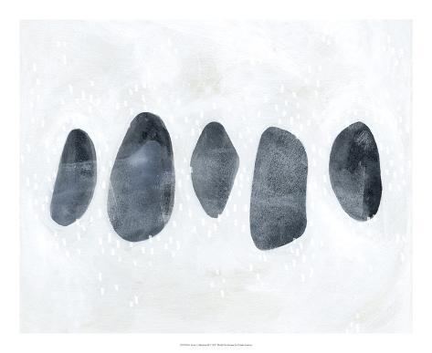 Stone Collection II Art Print