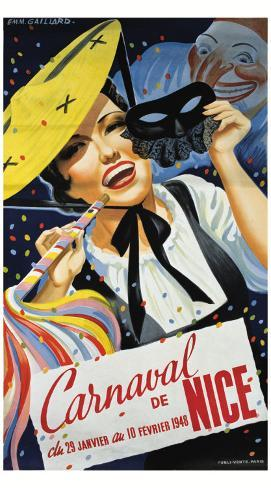 Carnaval de Nice Giclee Print