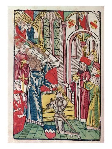 Emperor Sigismund Impressão giclée