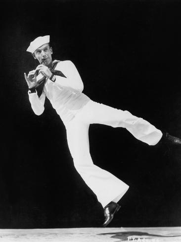 En Suivant La Flotte Follow the Fleet De Marksandrich Avec Fred Astaire, 1936 Photo