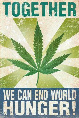 End World Hunger Poster