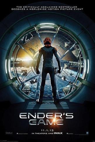 Ender's Game - Teaser Movie Poster Poster