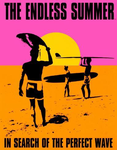 Endless Summer Tin Sign