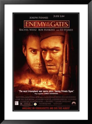 Enemy at the Gates Framed Poster