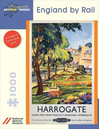 England By Rail/Harrogate 1000 Piece Puzzle Jigsaw Puzzle