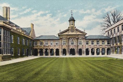 Emmanuel College Photographic Print